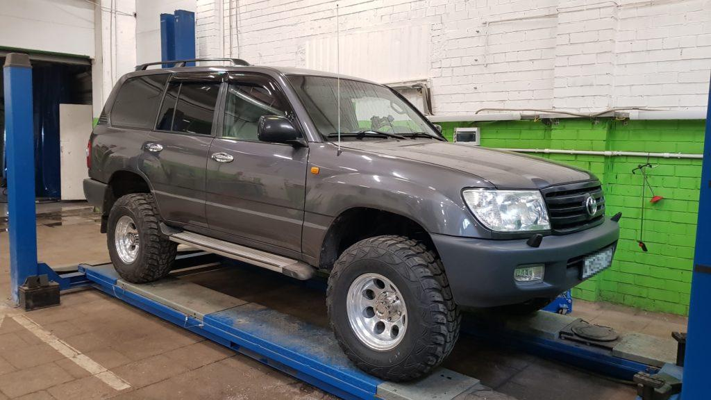 Обслуживание, ремонт и подготовка Toyota